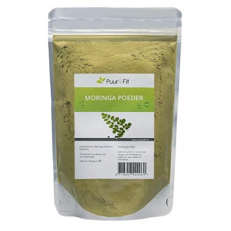 Moringa poeder, bio (250g - Puur&Fit)