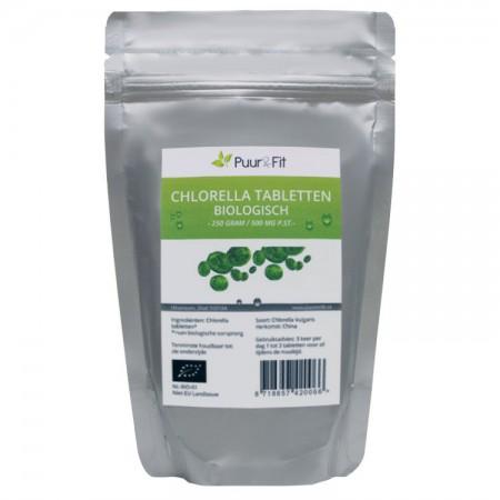 Chlorella tabletten, biologisch