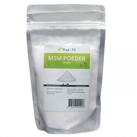 MSM poeder (250g - Puur&Fit)