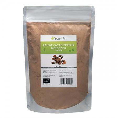 Rauwe Cacao poeder, bio (250g - Puur&Fit)