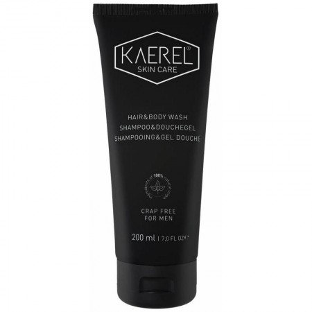 Skin care shampoo & douche gel (200ml - Kaerel)