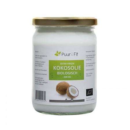 Kokosolie, extra virgin en biologisch