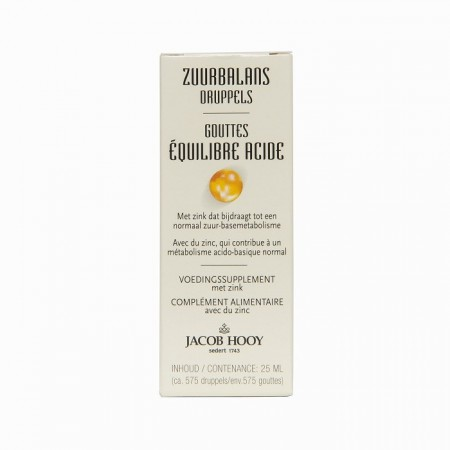 Zuurbalans druppels (25ml - Jacob Hooy)