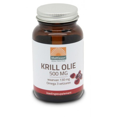 Krill olie 500 mg (60st - Mattisson)