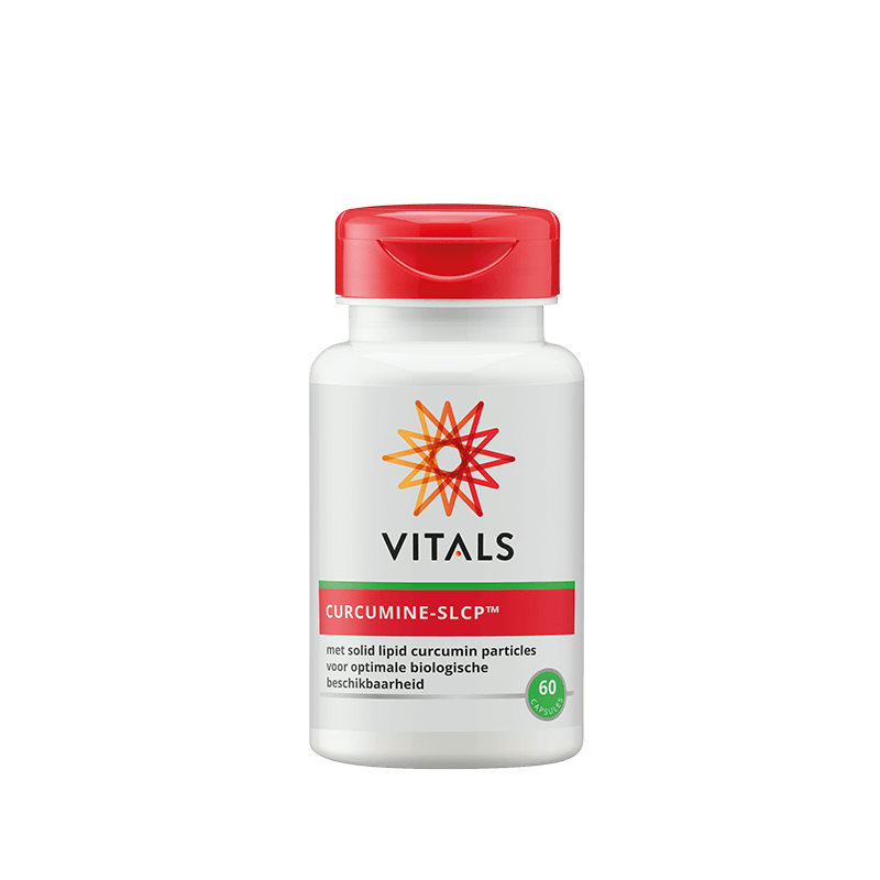 Curcumine-SLCP Capsules (60-120st - Vitals)