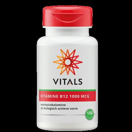 Vitamine B12 1000 MCG zuigtabletten (100st - Vitals)