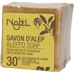 Aleppo zeep 30% (Najel - 170g)