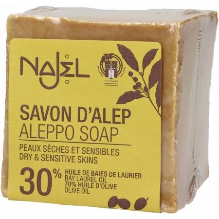 Aleppo zeep 30% (170g - Najel)