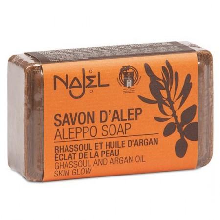 Aleppo zeep met arganolie en lava-aarde (100g - Najel)