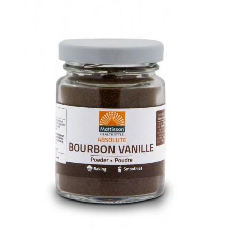 Bourbon Vanille poeder (30g - Mattisson)