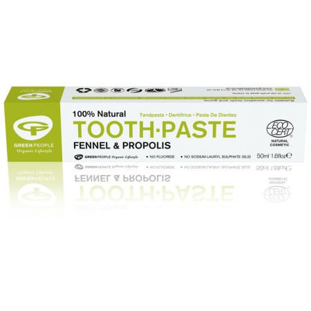 Green People venkel en propolis tandpasta (50ml)