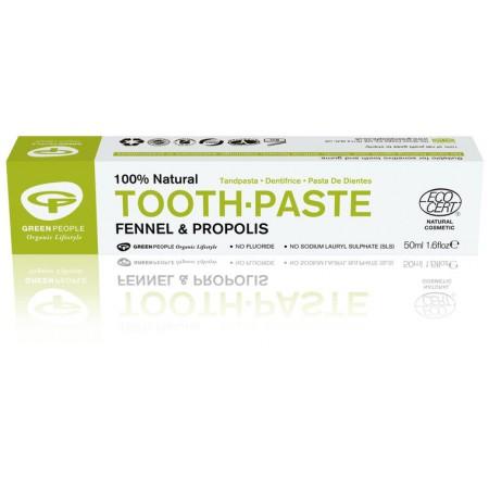 Green People venkel en propolis tandpasta (50ml)