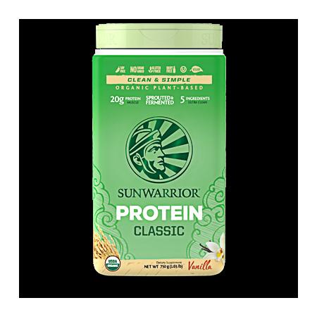 Sunwarrior Classic Protein Vanille 750 gram