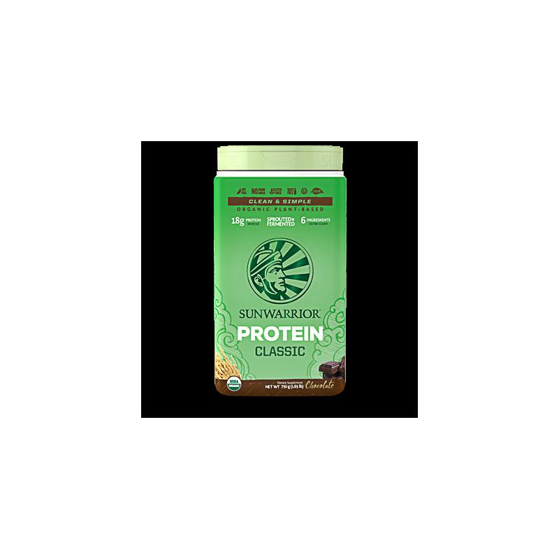 Sunwarrior Classic Protein Chocolade 750 gram