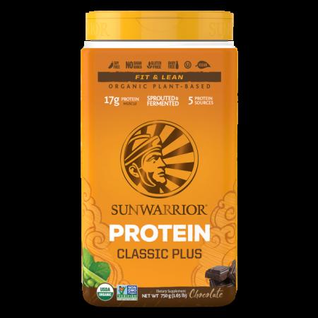Sunwarrior Classic Plus Chocolade 750 gram