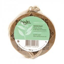 Najel amber en oud aroma aan koord (150g)