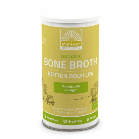 Organic bone broth (180 gram - mattisson)