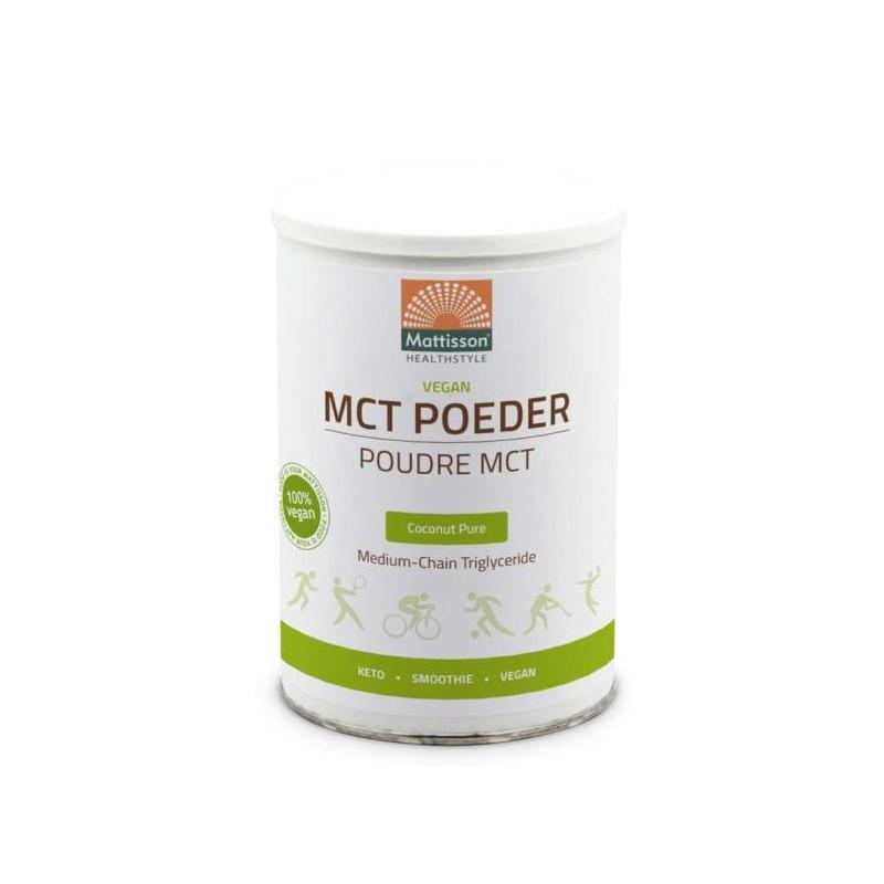 Mattisson MCT poeder vegan (330 gr)
