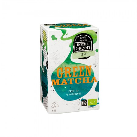 Royal Green Green Matcha Thee (16 zakjes)