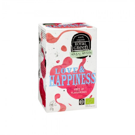 Royal Green Love & Happiness Thee (16 zakjes)