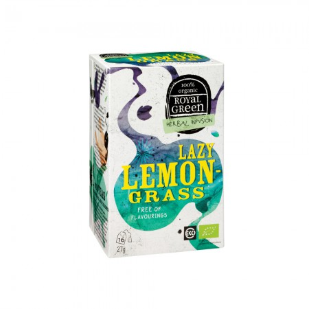 Royal Green Lazy Lemongrass Thee (16 zakjes)