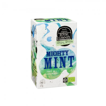 Royal Green Mighty Mint Thee (16 zakjes)