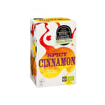 Royal Green Spicy Cinnamon Thee (16 zakjes)