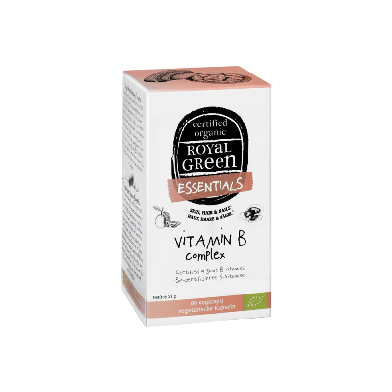 Royal Green Vitamine B complex (60 V-caps)
