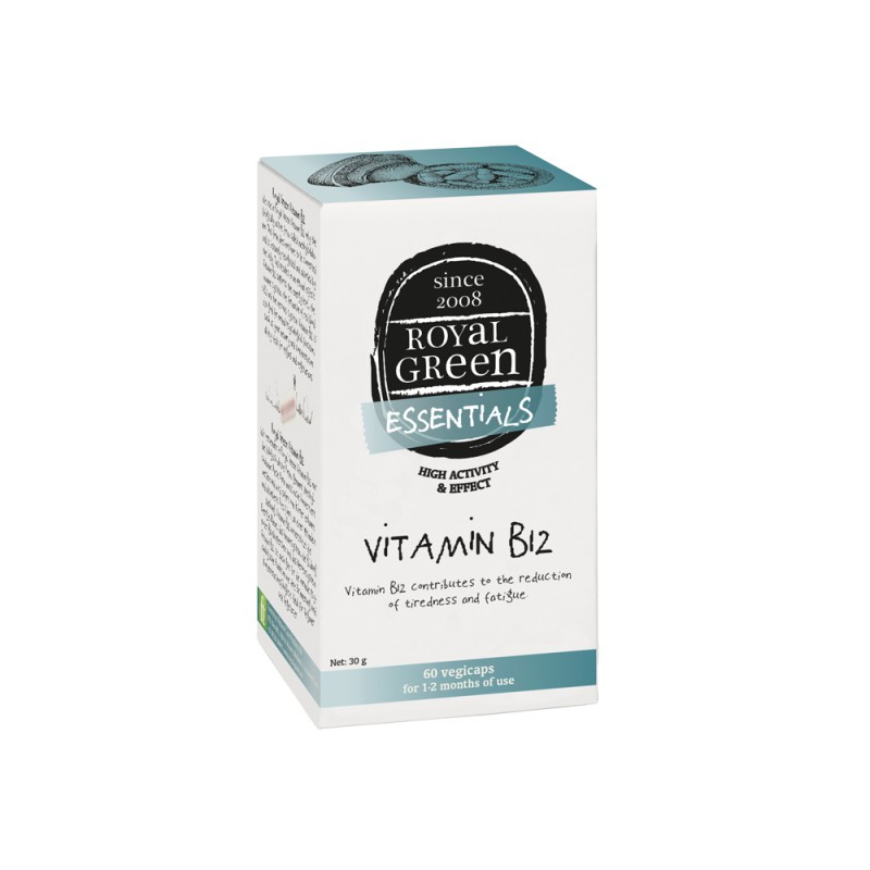 Royal Green Vitamine B12 (60 V-caps)