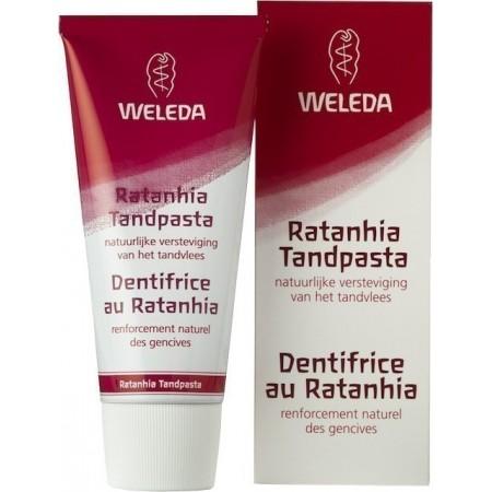 Welena Ratanhia Tandpasta (75 ml)