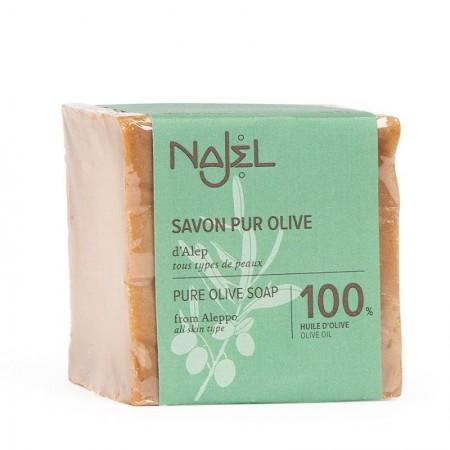 Aleppo olijfzeep 100% olijfolie (200g - Najel)
