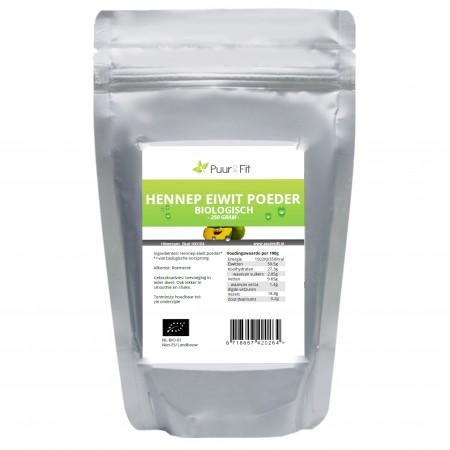 Hennep eiwitpoeder bio (250g - Puur&Fit)