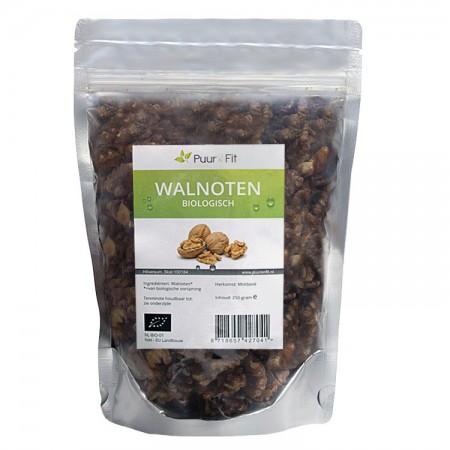 Halve Walnoten, bio (250g - Puur&Fit)