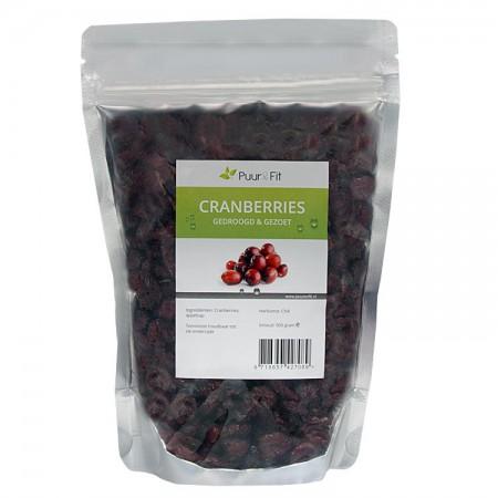 Cranberries / Veenbessen (500g - Puur&Fit)