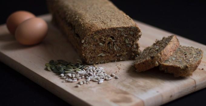 Paleo brood zonder granen